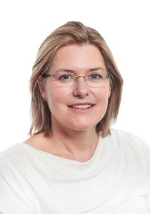 CUH consultant paediatric ophthalmologist, Dr Louise Allen