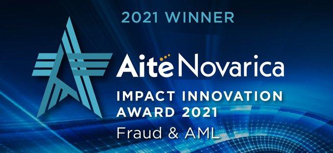 Aite-Novarica Group's 2021 Impact Innovation Award _banner