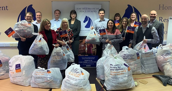 Staff of SG Wealth Management have contributed clothes, books, DVDs, toys, bric-a-brac and more.