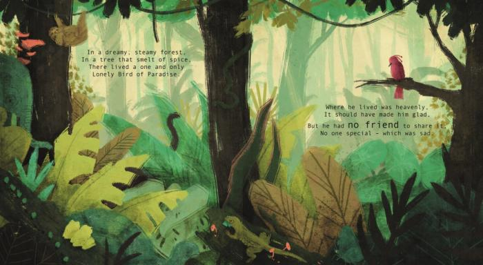 Ellan Rankin's illustration for One and Only