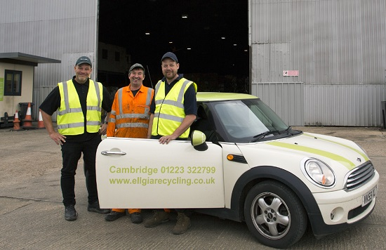 Ellgia provides waste management recycling solutions and skip hire to businesses, trade and home-owners