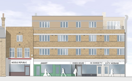 Essex House_proposed elevation