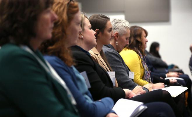 Audience at the recent Form the Futre Conference