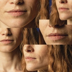 Montage of women's faces