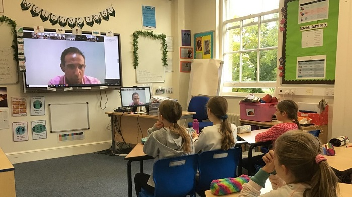 St Mary's pupils enjoy the Festival of Ideas