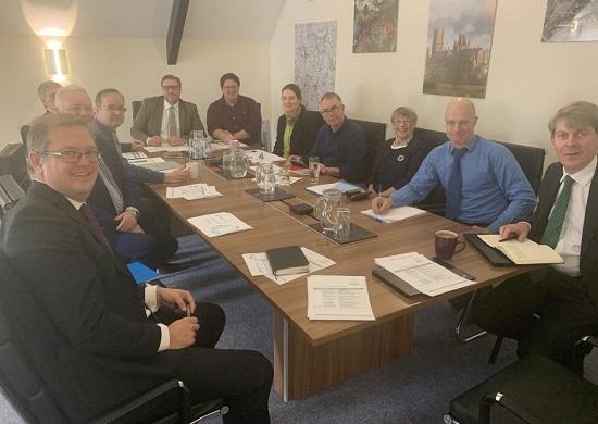 First meeting of CPCA's Bus Reform Taskforce