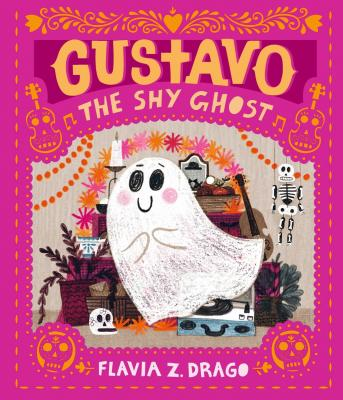Flavia Z Drago - Gustavo, the Shy Ghost cover - shortlisted for Klaus Flugge Prize