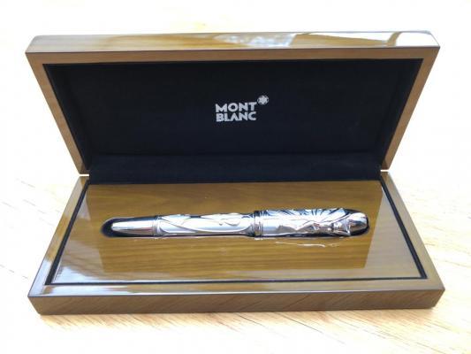 Griff's Montblanc pen