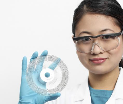 Gyrolab® Bioaffy™ 4000 CD for immunoassay applications in biotherapeutic workflows.