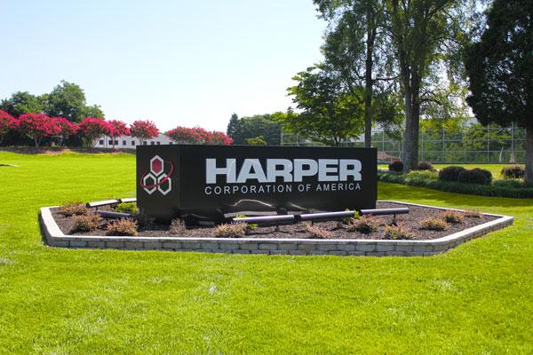 Harper Corporation - company signage