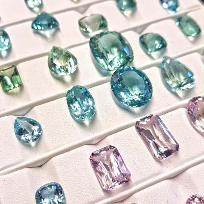 precious stones on a cloth