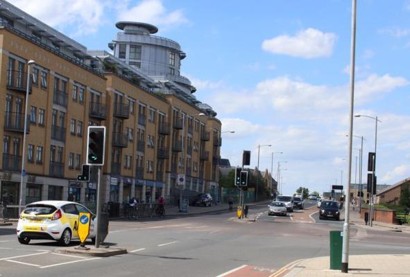 Hills Rd - Cherry Hinton Rd junction