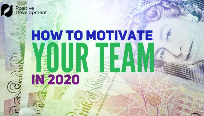 How to motivate your team -- banner
