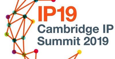 Cambridge IP Summit 2019 banner