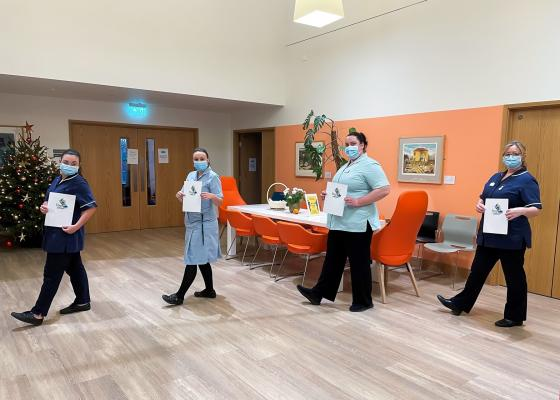 Arthur Rank Hospice Charity colleagues also took part in Step a Million to raise awareness and funds for the services they provide, including some of the team based at the Inpatient Unit in Cambridge.