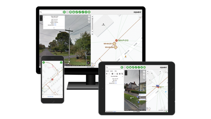 IQGeo mobile-first geospatial software