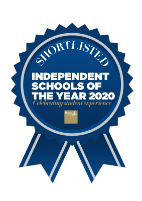 Independent Schools of the Year awards rosette