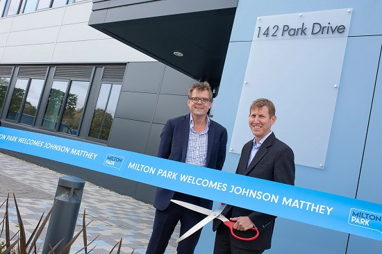 Johnson Matthey to open new battery application centre at Milton Park