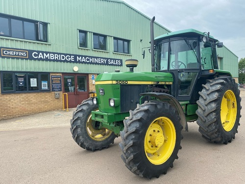 John Deere 3050 tractor to be auctioned