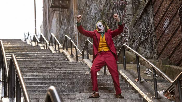 Joker - one of the films available for Drive in