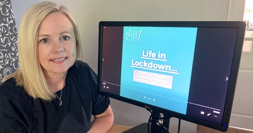 Judith Sloane, Manager at Meet Cambridge – its lockdown videos will form part of the official 'Collecting COVID-19' archive at Cambridge University.