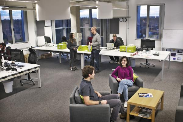 Safely spaced office at Allia Future Business Centre