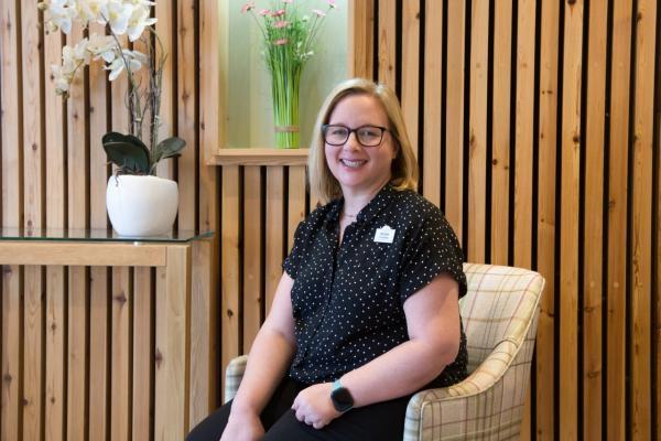 Transition Coordinator, Kristie Foreman.