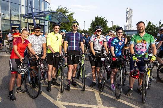 Price Bailey team starts epic cycle ride