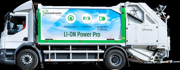 Geesinknorba electric bin lorry