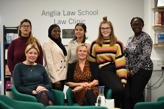 Anglia Ruskin Law Group photo