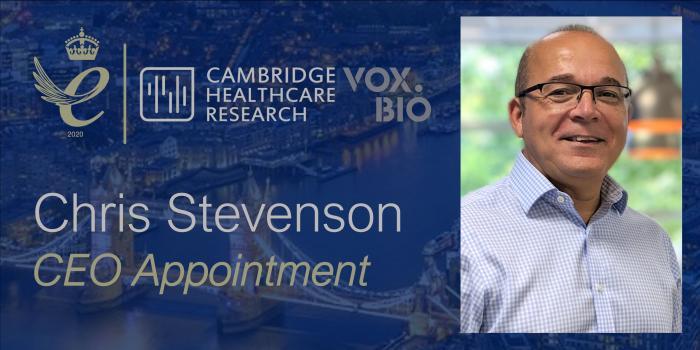 Chris Stevenson appointed CEO_banner