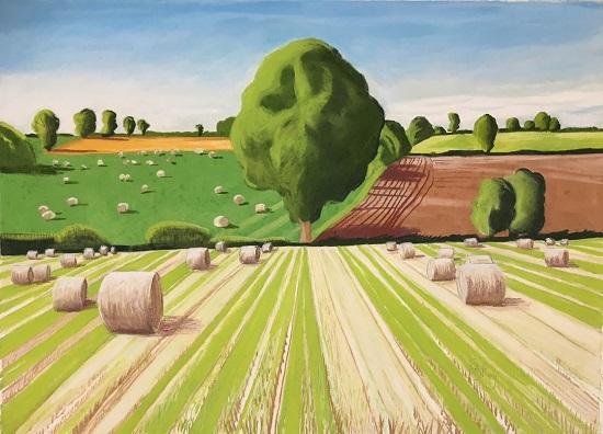 Lot 35 by Norfolk landscape painter Cornelia Fitzroy
