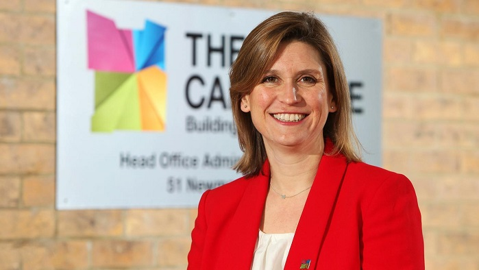 Lucy Crumplin, Chief Operating Officer at The Cambridge Building Society