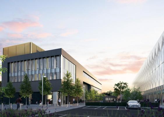 artist's impression of new ARU peterborough building