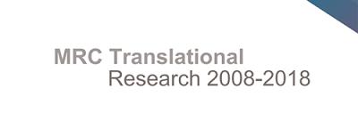 MRC translational research banner