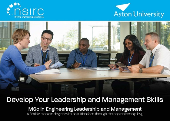 MSc in Leadership and Management banner_people sitting aorund a table and talking