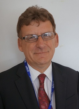Mark Robertson, Principal of Cambridge Regional College