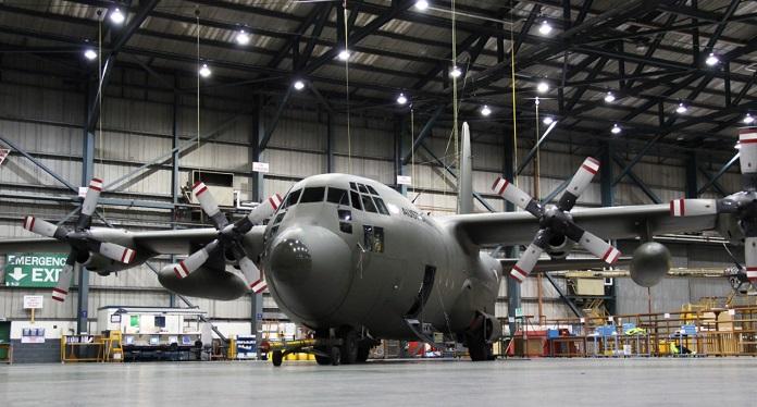 An Austrian C-130K at Marshall ADG