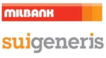 Milbank Group logo and Sui Generis logo