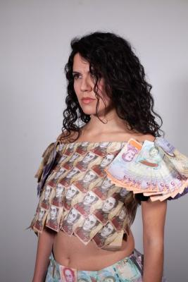 Moneydress by Zheko Georgiev - Katherine Hasegawa