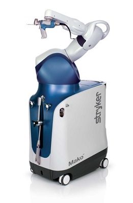 Mako robot for knee and hip replacements