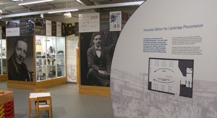 New displays on Pye and Cambridge Instrument Company at Cambridge Museum of Technology