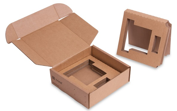 New recyclable packaging (inner) - Xaar 2002
