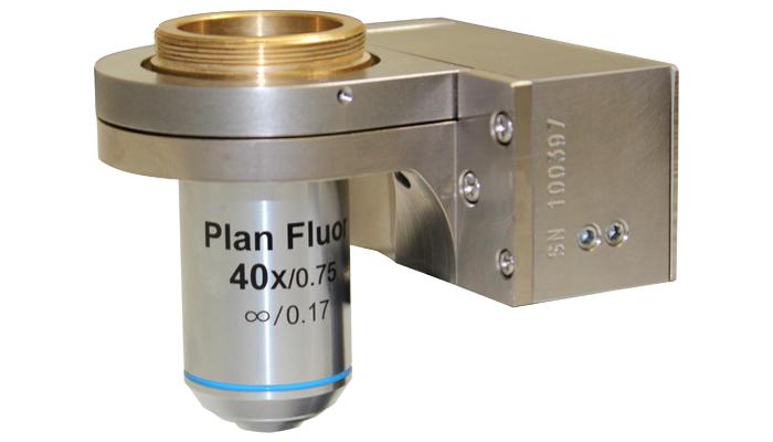 The new NanoScan OP400 objective positioner