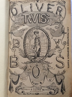 Cover of Oliver Twiss; cheap imitation of a Dickens novel