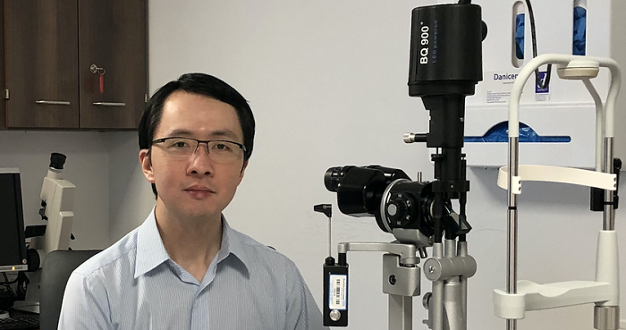 Dr Patrick Yu Wai Man, Addenbrooke's Hospital Honorary Consultant Ophthalmologist.