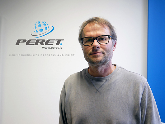 Lukas Pescoller, CEO Peret GmbH