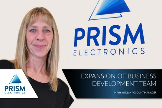 Mary Wells joins Prism Electronics as a Customer Account Manager.