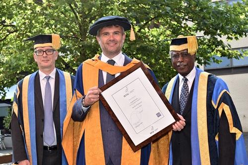 Professor Roderick Watkins, Craig Bennett, Lord Ribeiro