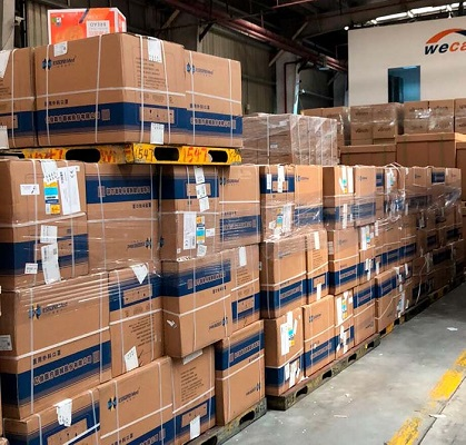 PPE shipments during Covid-19